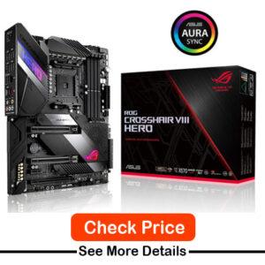 ASUS ROG Crosshair VIII Hero X570 ATX Motherboard