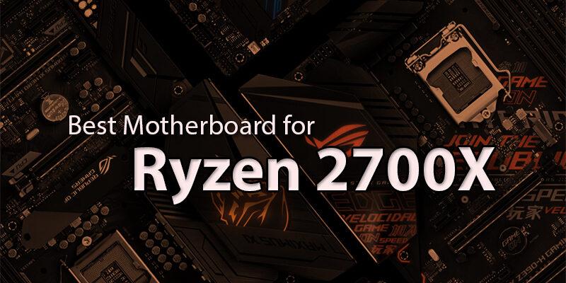 For Ryzen 2700X
