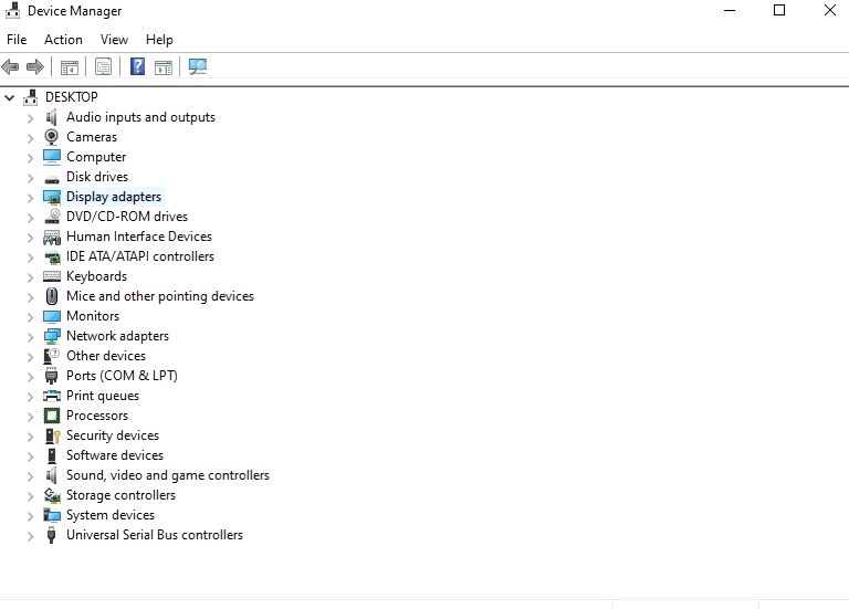 Verifying the Installed Drivers