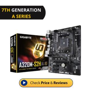GIGABYTE GA-A320M-S2H AMD Ryzen Motherboard