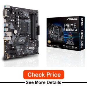 ASUS Prime B450M-ACSM Motherboard