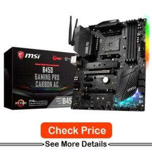 MSI B450 Gaming Pro Carbon AC Socket AM4 ATX Motherboard